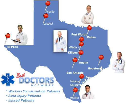 Best Doctors Network Texas Doctors | Worker Compensation Patients Texas | www.BestDoctorsNetwork.com